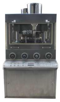 压片机零部件与机器结构