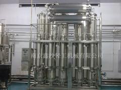 内螺旋多效蒸馏水机,电加热蒸馏水机,注射用水分配系统