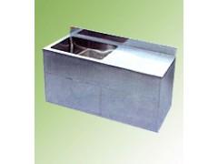 不锈钢带沥水台水槽