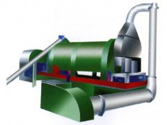ZHG直接加热式回转滚筒干燥机