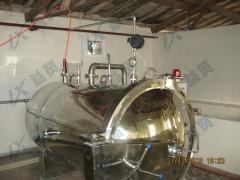 供应热水回转式杀菌装置