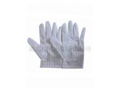 武汉双面条纹防静电洁净手套 无尘手套价格