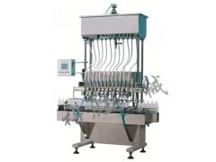 唐山科胜全自动12头自流式灌装机|化妆品灌装生产线