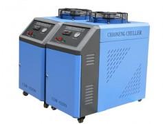 二氧化碳玻璃管专用冷水机 济南超能CO2玻璃管冷却机